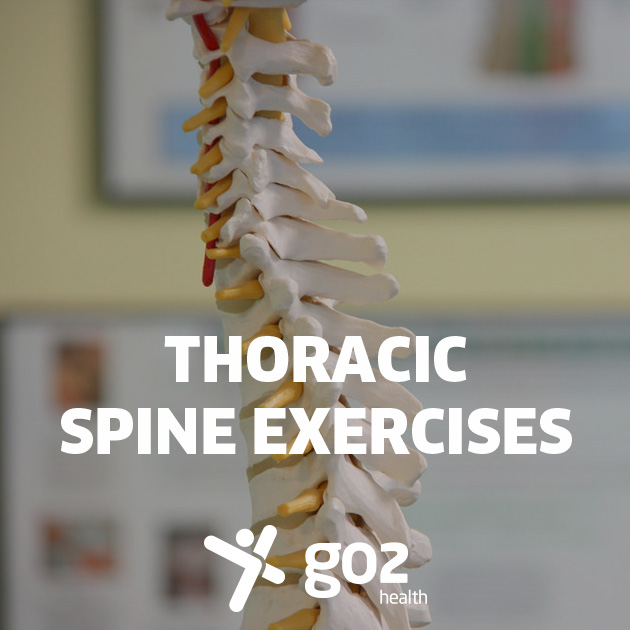 Thoracic spine exercises